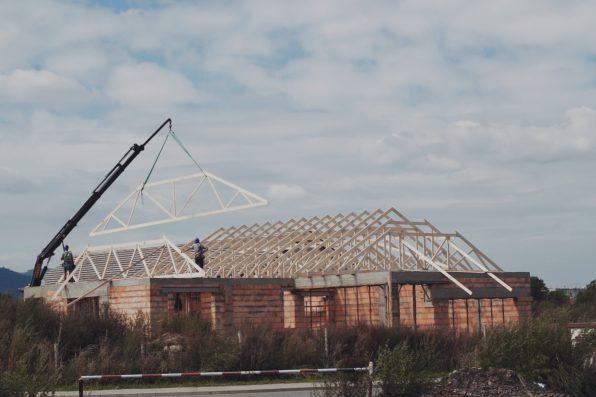 Wiązary dachowe w budownictwie przemysłowym
