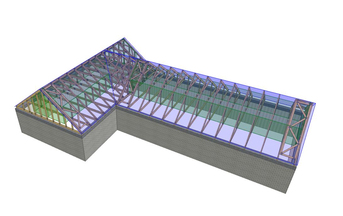 Wiązary dachowe - rodzaje, które wybrać, na co zwrócić uwagę? 1